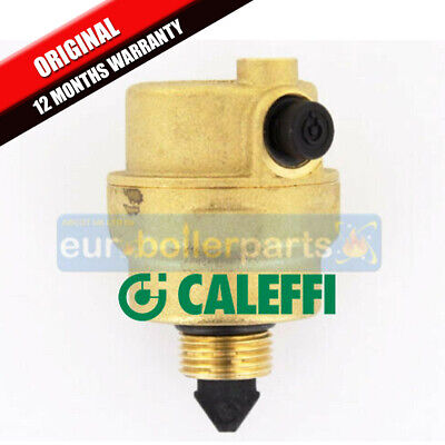"Robocal Caleffi 3/8"" Automatic Float Air Vent Horizontal discharge 5024"