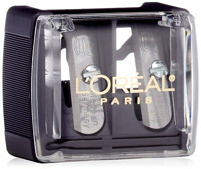 LOreal Paris Dual Sharpener with Clear Cover