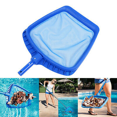 UK Professional Leaf Rake Mesh Frame Net Skimmer Cleaner Swimming Pool Spa Tool