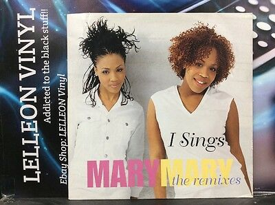 "Mary Mary I Sings The Remixes 12"" Single Vinyl LC0162 Soul R&B 00's"