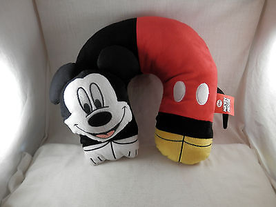 Disney Mickey Mouse 3D  traveling neck pillow 12""