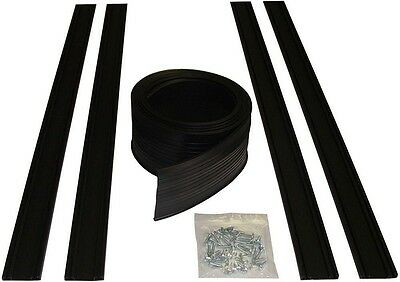 Garage Door Bottom Seal Kit 18 ft. Flexible PVC Weather Resistant Vinyl