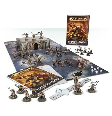 Age Of Sigmar: Thunder & Blood Warhammer New in Box
