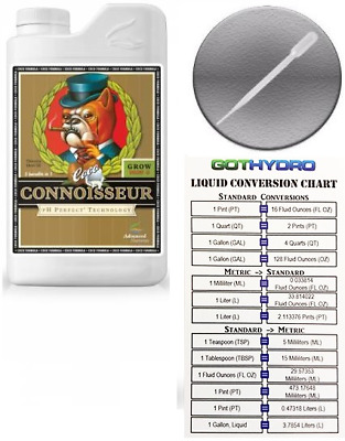 Advanced Nutrients Connoisseur Coco Grow Part B 1 Liter pH Perfect