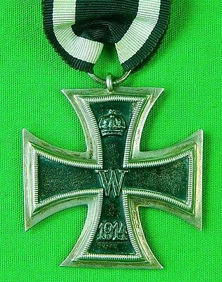 German Germany WWI WW1 Iron Cross of 2 Class Medal Order Badge