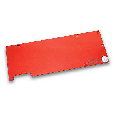 EK Water Blocks EK-FC Titan X Backplate - Rosso