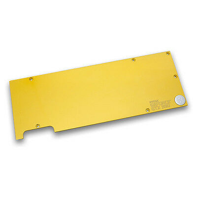 EK Water Blocks EK-FC1080 GTX Backplate - Oro