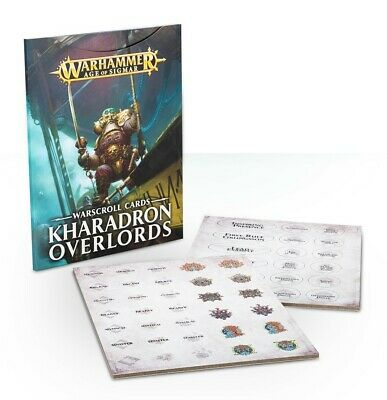 Warscrolls: Kharadron Overlords Games Workshop 60220205002 Age of Sigmar