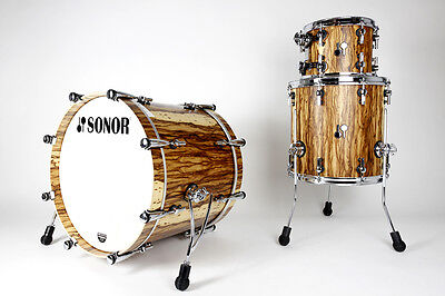 Sonor SQ2 Maple Shellset 20BD/10T/14FT African Marble