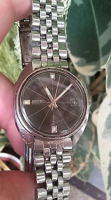 Great Rare Vintage Seiko Automatic Watch 7005-8032 March 1971 For Men;reloj