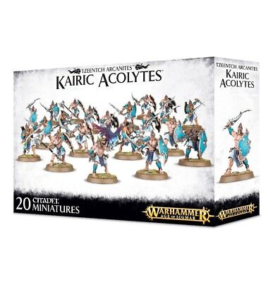 Tzeentch Arcanites Kairic Acolytes Games Workshop 99120201063 Age of Sigmar