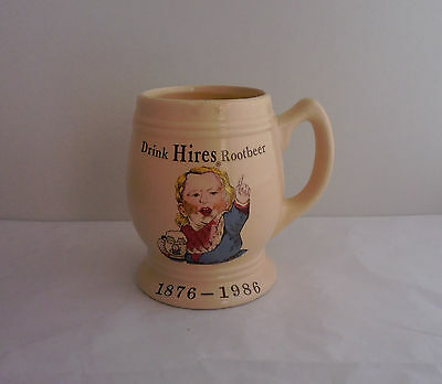 Mug -- Drink Hires Rootbeer 1876 - 1986 - Crush International Inc.