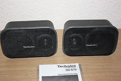 Technics = sb-s70 = Surround = 2-weg - sistema altavoces = 50 vatios