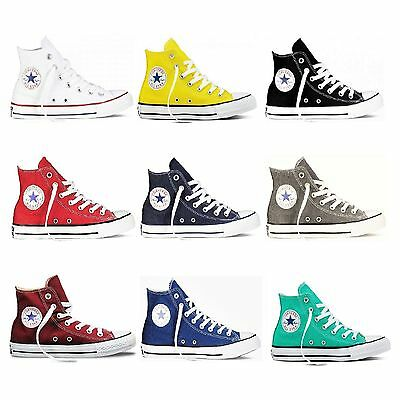 converse all star alte gialle donna