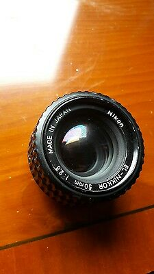 Nikon EL-Nikkor 50mm f/2.8 Enlarger Lens. Excellent condition.