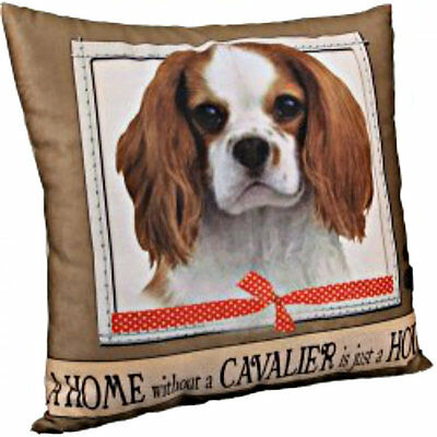 E&S Pets Super Soft Pillow Dog Breed King Charles Cavalier Puppy Home Decor