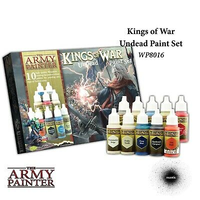 Warpaints: Kings of War Undead paint set Army Painter Acrylic New AP-WP8016