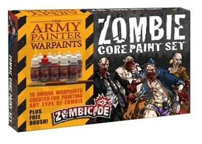 Zombie Core Paint Set Army Painter Water Based Acrylic New in Box AP-WP8007