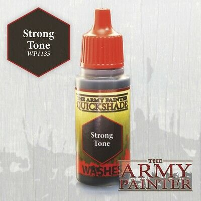 Warpaints: Strong Tone Ink Army Painter Water Based Acrylic New AP-WP1135