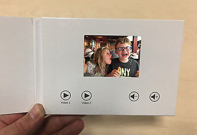 "Recordable Video Greeting Card - 3"" HD Screen - Blank A6 256mb"