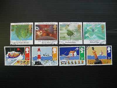 Gb 1985 European Music/safety At Sea 2 Full Sets Sg1282/9 Vfu Stamps