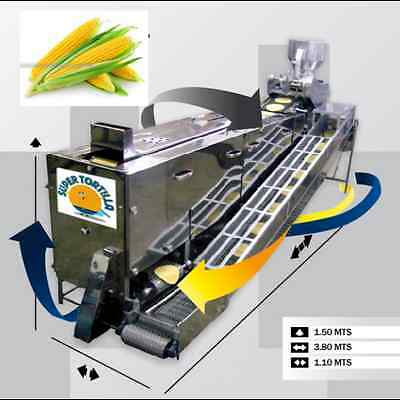 OPPORTUNITY ASIA AREA Corn Tortilla Machine Equipment with automated grill