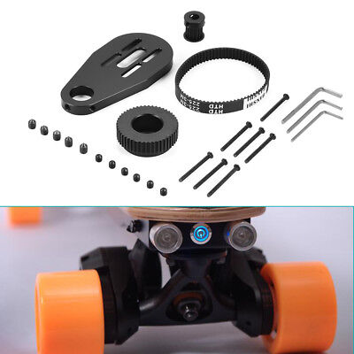 Electric Skateboard Longboard Kit Pulley And Motor Mount for 70/72mm Wheel OS915