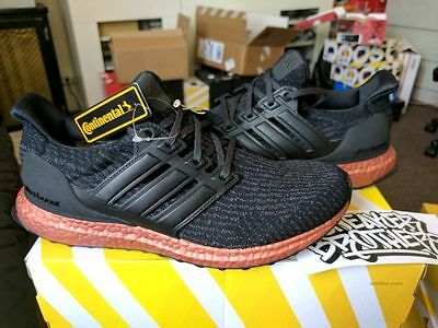 b105c84f9 Adidas Ultra Boost 3.0 M Core Black Tech Rust Bronze Copper Leather CG4086  NMD