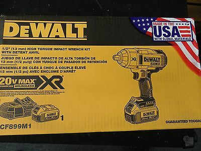 "Dewalt  DCF899M1 High Torque Impact Wrench Kit 1/2"" Brand New Factory Sealed"