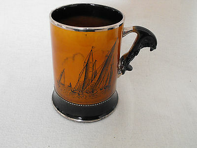 Arthur Wood ROYAL BRADWELL SPORTS SERIES TANKARD YACHTING SAILING REGATTA