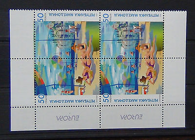 Macedonia 2004 Europa Holidays set in blocks x 4 (2 sets) MNH