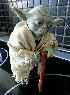 Vintage Star Wars Yoda (Rare Collection Series Figure) By Kenner Products