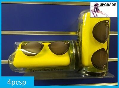NEW UK Genuine Snapchat Glasses / Spectacles (IOS / Android) Bluetooth BLACK
