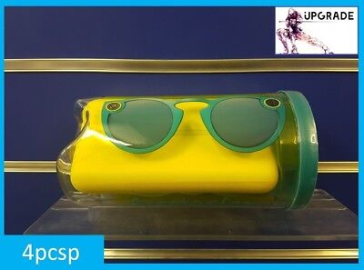 NEW UK Genuine Snapchat Glasses / Spectacles (IOS / Android) Bluetooth TEAL Blue