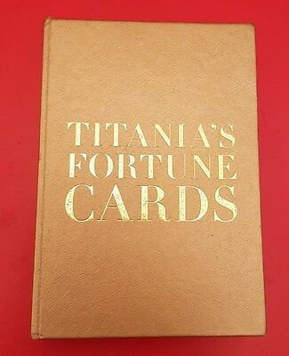 Titania's Fortune Cards by Titania Hardie Rare Collectable