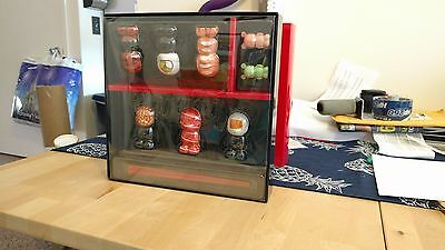 "Sushi Box-Set 6 3"" and 2 Jr VINYLMATION Disney Box LE 2500 w/ Chopsticks New"