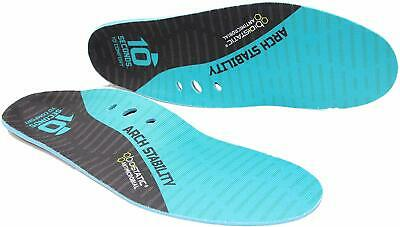 10 Seconds Arch 1000 Performance Insoles, Stability Shoe Inserts/Orthotics