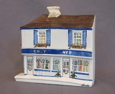 HAZLE CERAMICS A Nation Of Shopkeepers: Envy Limited Painting 11/30 Mint