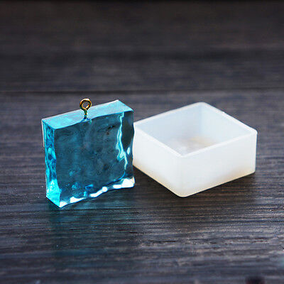 Silicone Mould Square Pendant Mould for resin