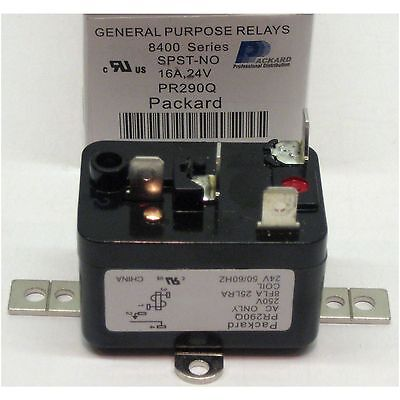 Packard 90 290 90 290Q General Purpose Enclosed Fan Relay 90 380 enclosed general purpose fan relay 24v normally opened 50t35-743 wiring diagram at gsmx.co