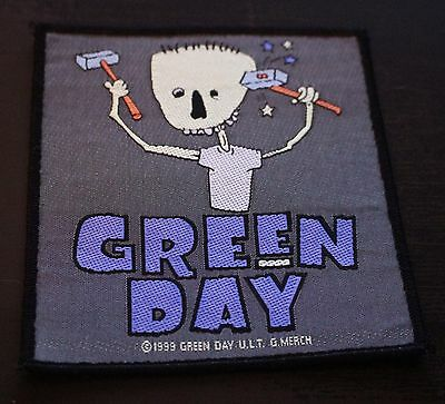 GREEN DAY Album Embroidered Badge Nimrod Fabric Iron On Patch Clothing NEW 1999