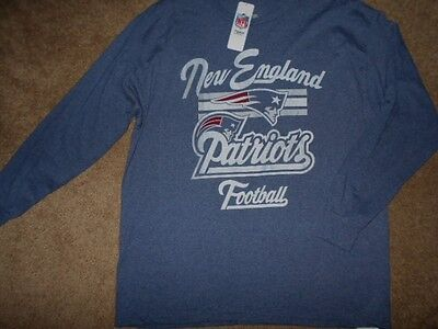 Nwt! Authentic Nfl New England Patriots Long Sleeve Shirt Mens Xl (X-Large)