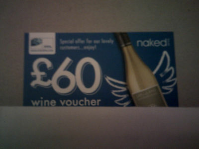 £60 pound wine voucher/offer for naked wines
