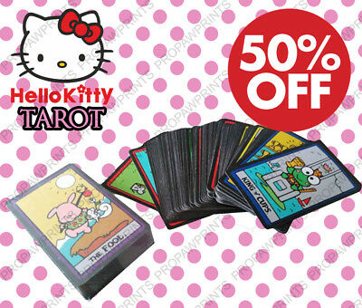 SALE - RARE Hello Kitty Tarot 78 Cards Deck Sealed OOP HTF - 20% OFF TODAY ONLY