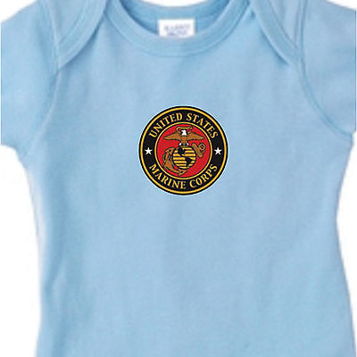 USMC Marines Semper Fi Kid Baby Infant Mom Shower Gift Bodysuit Newborn 6m 12 18