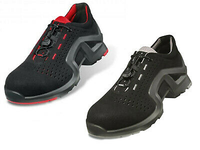 Uvex Safety Trainers. ESD rated. 100% Metal-Free Composite. Airport Compliant.