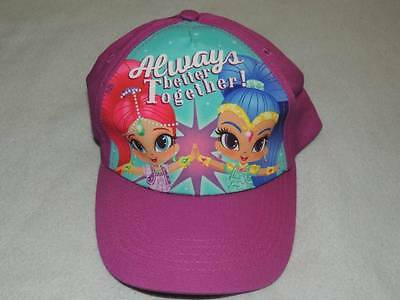 Shimmer And Shine Kids Hat Cap New!