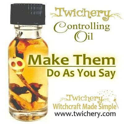 CONTROLLING OIL, Black Magic, Compel, Force, Hoodoo, Voodo, Pagan-Wicca, Conjure