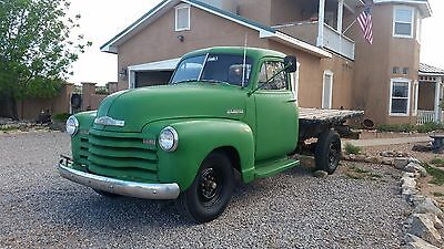 1951 Chevrolet Other Pickups 3600 1951 Chevy 3600 Stake Bed. Three New Mexico Owners.