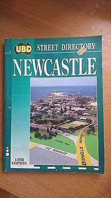 ubd newcastle street directory 13th ed 1993 (paperback)